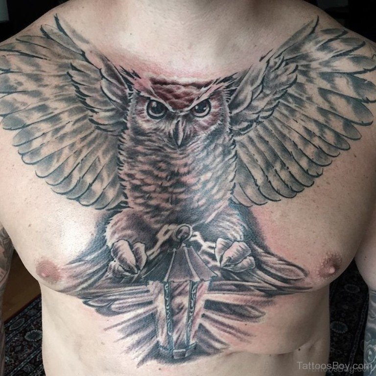 70 Outstanding Owl Tattoos For Chest Ideas And Designs