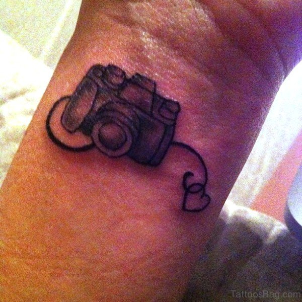 62 Awesome Camera Tattoos On Wrist Ideas And Designs
