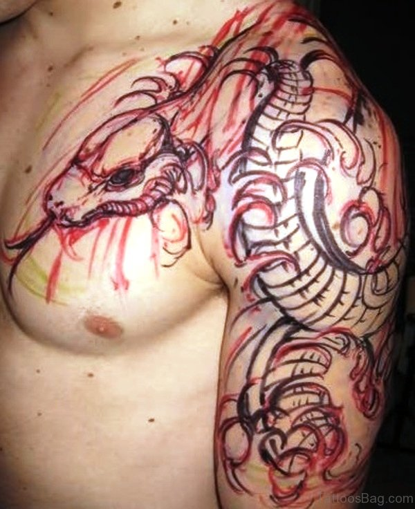 42 Incredible Kraken Tattoos On Shoulder Ideas And Designs
