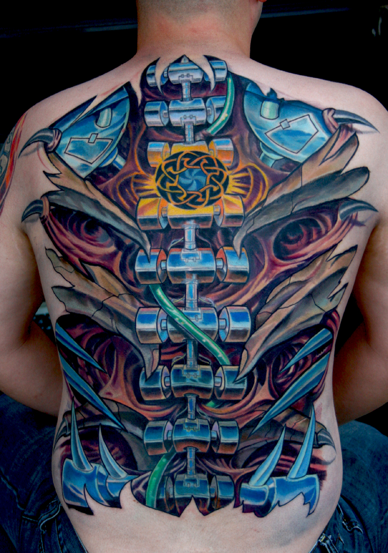 Biomechanical Tattoos Designs Ideas And Meaning Tattoos Ideas And Designs