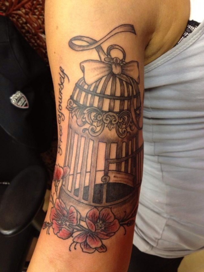 Bird Cage Tattoos Designs Ideas And Meaning Tattoos For You Ideas And Designs