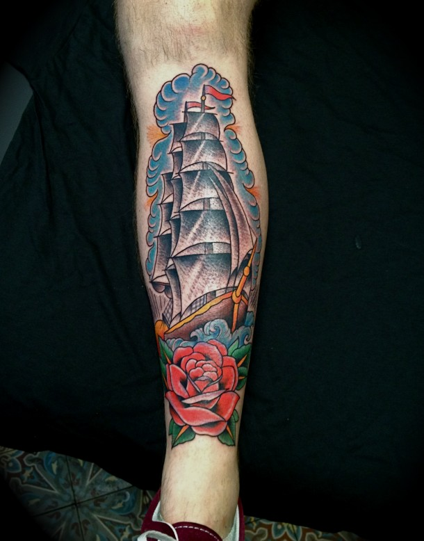 Shin Tattoos Designs Ideas And Meaning Tattoos For You Ideas And Designs