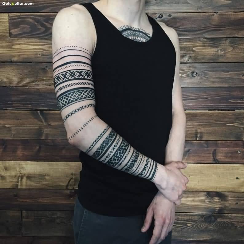 Armband Tattoos Significant Armband Tattoos Meanings Ideas And Designs