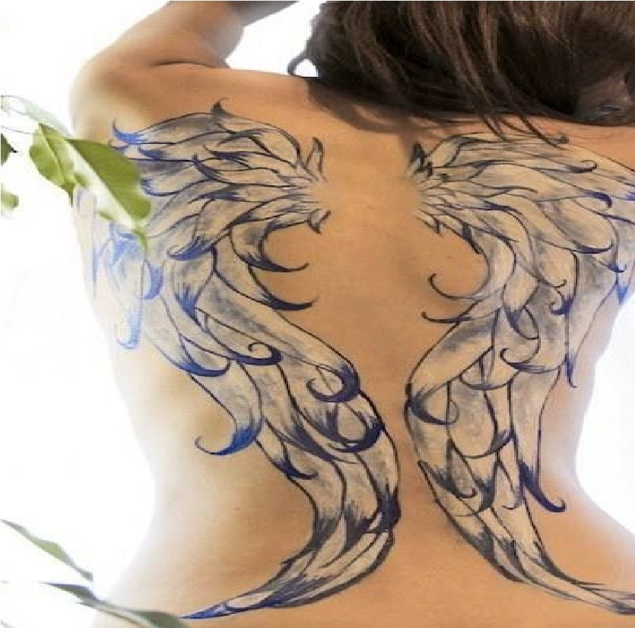 3D Angel Tattoos Angel Tattoo Designs And Ideas Ideas And Designs