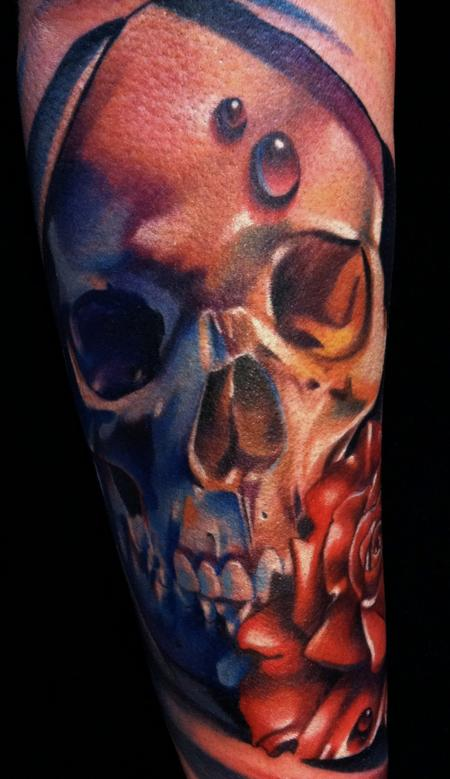 Art Junkies Tattoo Studio Tattoos Realistic Skull Ideas And Designs