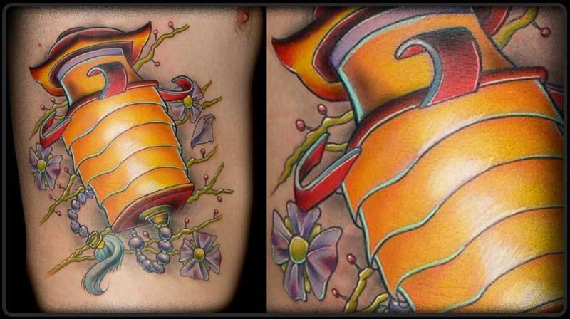 Latern Tattoo By Lenny Renken Tattoos Ideas And Designs