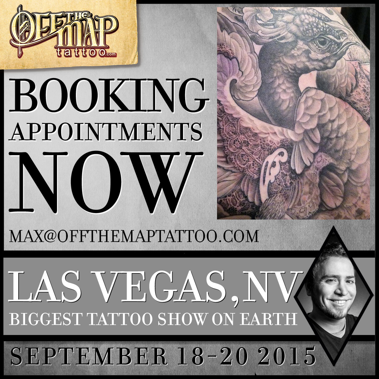 Book Now The Biggest Tattoo Show On Earth Maximilian Ideas And Designs