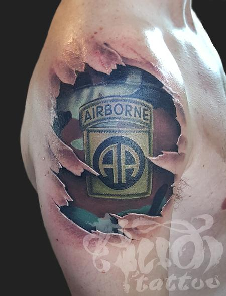 Tattoos By Audi Tattoos Body Part Arm Airborne Tattoo Ideas And Designs