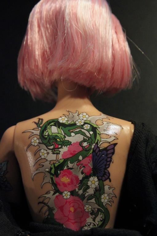 Tattoo Barbie Controversy Ideas And Designs