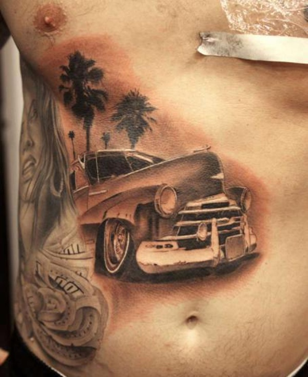 15 Cool And Classic Car Tattoo Designs With Meanings Ideas And Designs