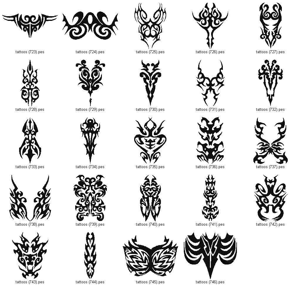 Linaria Dalmatica Designs Tattoo Abstract Collection Ideas And Designs