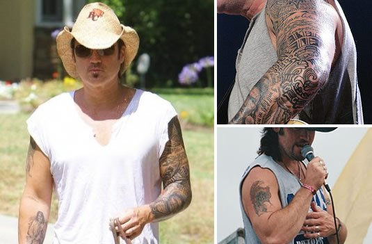 The Cyrus Family Tattoos Miley Trace And Billy Ray Ideas And Designs
