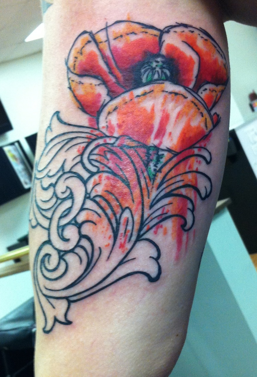 Botanical Tattoos Suffer For Your Vanity Ideas And Designs