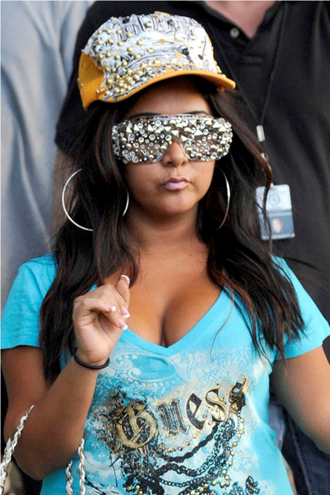 Snooki S Short Chunky Body Fat T*Ts Ronnie S B*Tch Tattoo Ideas And Designs