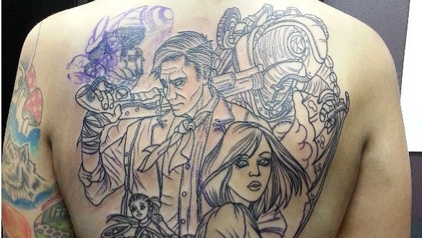 Stare Upon The Best Bioshock Infinite Tattoo In Existence Ideas And Designs