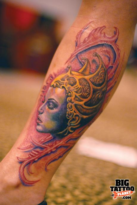 Electric Ink 07 Paso Robles Colour Tattoo Big Ideas And Designs