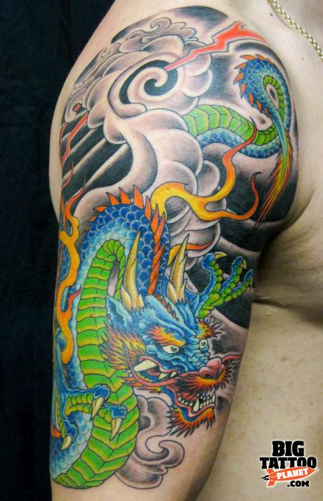 Ant Iannucci Colour Tattoo Big Tattoo Planet Ideas And Designs