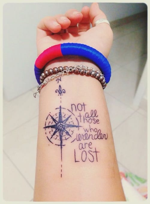 160 Best Compass Tattoo Designs And Meanings 2017 Ideas And Designs