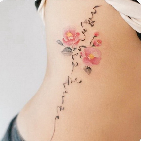 50 Pretty Flower Tattoo Ideas For Creative Juice Ideas And Designs