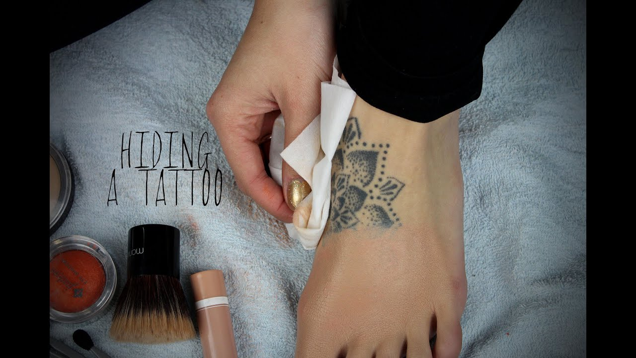 Tattoo Coverup With Drugstore Makeup Youtube Ideas And Designs