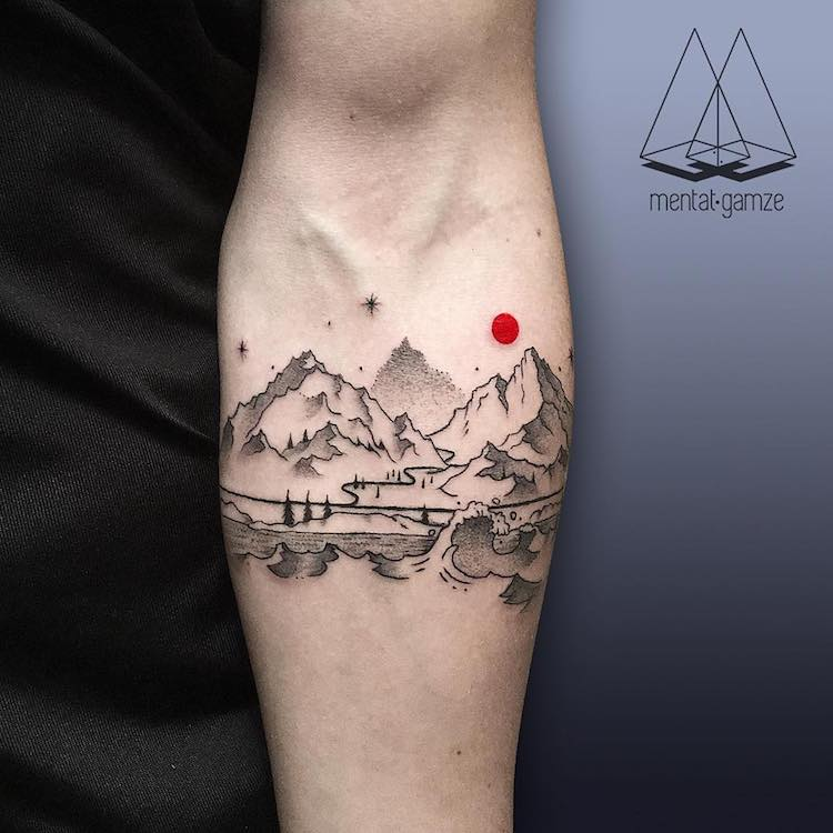 Artist Celebrates Change With Eye Catching Red Dot Tattoo Ideas And Designs