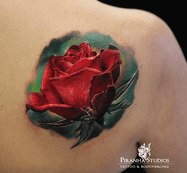 40 Eye Catching Rose Tattoos Nenuno Creative Ideas And Designs