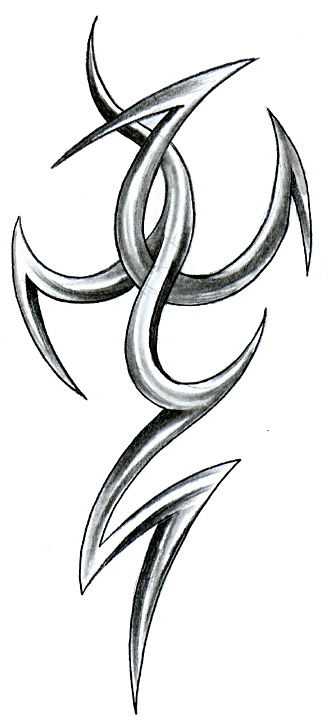 3D Tribal Design By Robincz On Deviantart Ideas And Designs