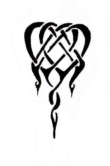 Intertwined Hearts By Thatcutekitty On Deviantart Ideas And Designs