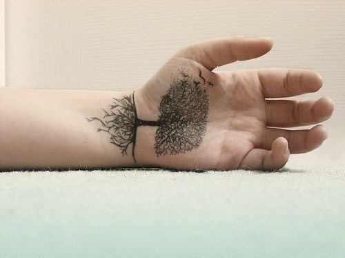 Hand Tattoos Are Art In The Palm Of Your Hand « Tattoo Ideas And Designs