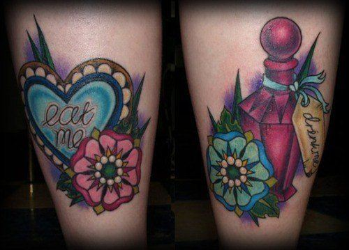 """""""Ink Me"""" With Alice In Wonderland Tattoos « Tattoo Ideas And Designs"""