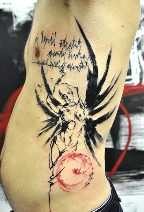Musas Abstract Tattoo Style Is Both Artistic And Unusual Ideas And Designs