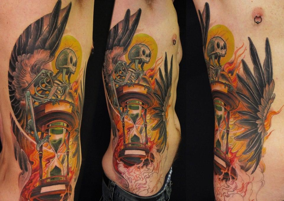 Eye Catching New School Tattoos By Jee Sayalero « Tattoo Ideas And Designs