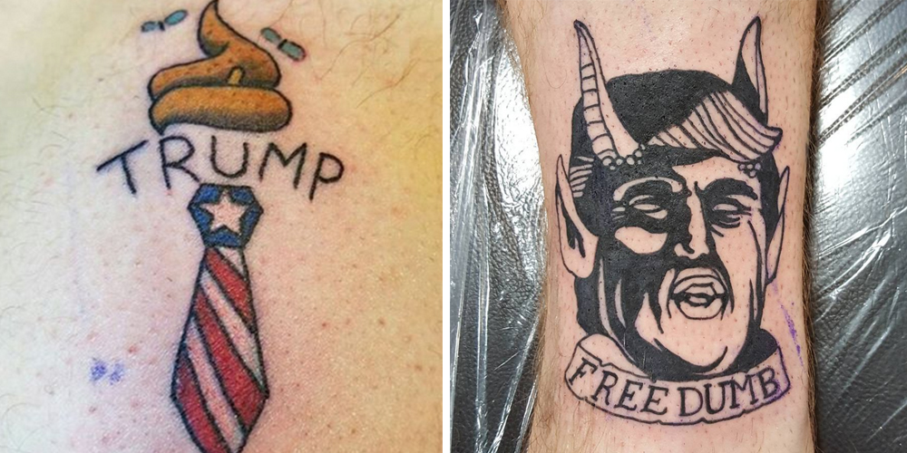 Donald Trump Protest Tattoos 2016 Election Protests Ideas And Designs
