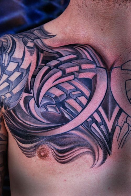 3D Tribal Tattoo Tattoos Pinterest Ideas And Designs