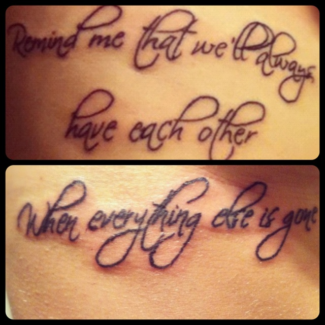 Big Sister Little Sister Tattoo Day 1 Tattoos Pinterest Ideas And Designs