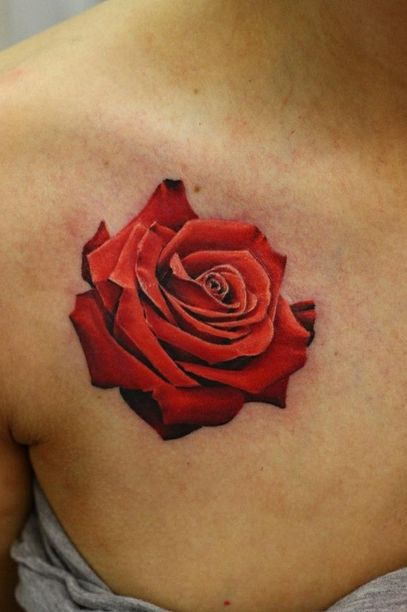 3D Rose Tattoos Design Pinpoint Ideas And Designs