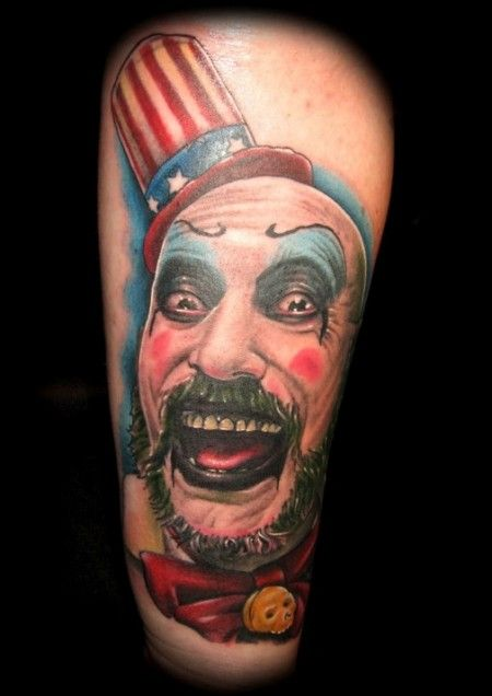 Captain Spaulding Ink Pinterest Ideas And Designs
