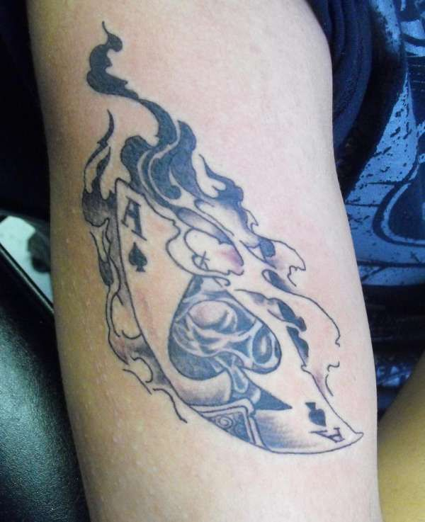 Ace Of Spades Tattoo Designs Tattoos Bodyart Pinterest Ideas And Designs