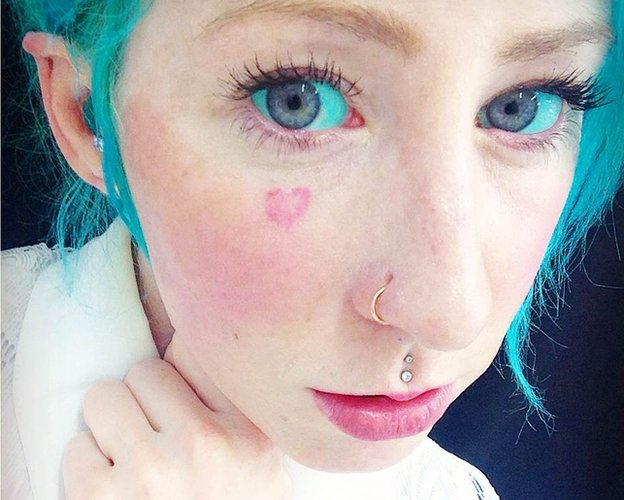 Why Would Anyone Want An Eyeball Tattoo Bbc News Ideas And Designs