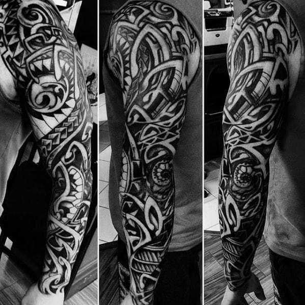 70 Sick Tribal Tattoos For Men Cool Masculine Design Ideas Ideas And Designs