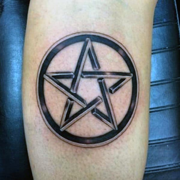 50 Pentagram Tattoo Designs For Men Five Pointed Star Ideas Ideas And Designs