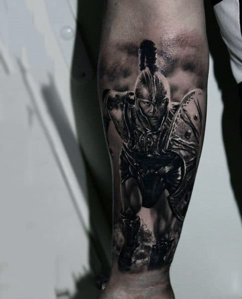 100 Warrior Tattoos For Men Battle Ready Design Ideas Ideas And Designs