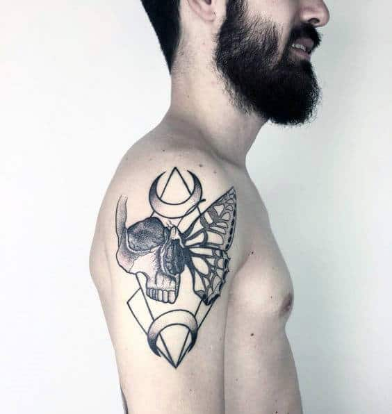 50 Life Death Tattoo Designs For Men Masculine Ink Ideas Ideas And Designs