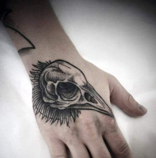 80 Skull Hand Tattoo Designs For Men Manly Ink Ideas Ideas And Designs