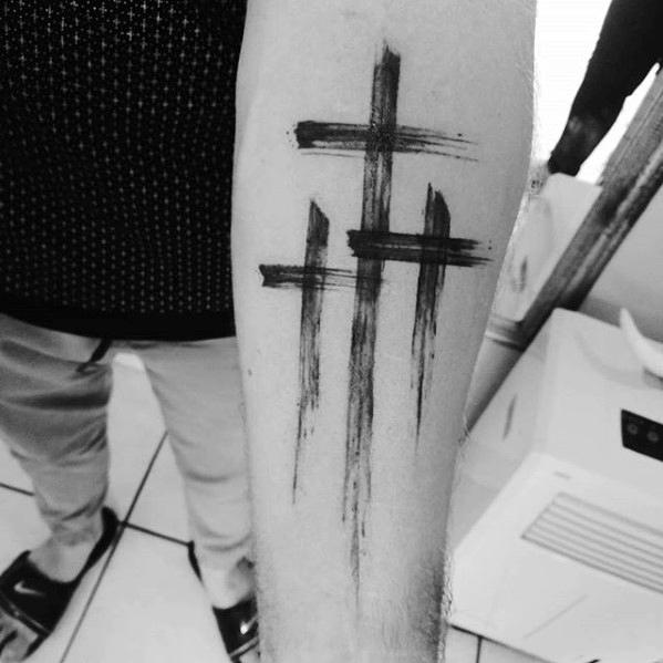 40 Simple Christian Tattoos For Men Faith Design Ideas Ideas And Designs