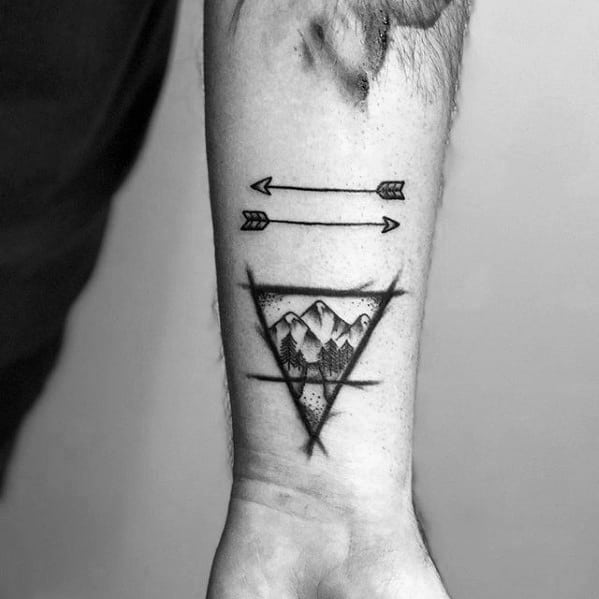 50 Small Arrow Tattoos For Men Manly Design Ideas Ideas And Designs