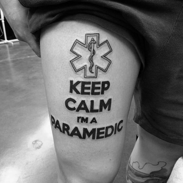 60 Star Of Life Tattoo Designs For Men Ems Emt And Ideas And Designs