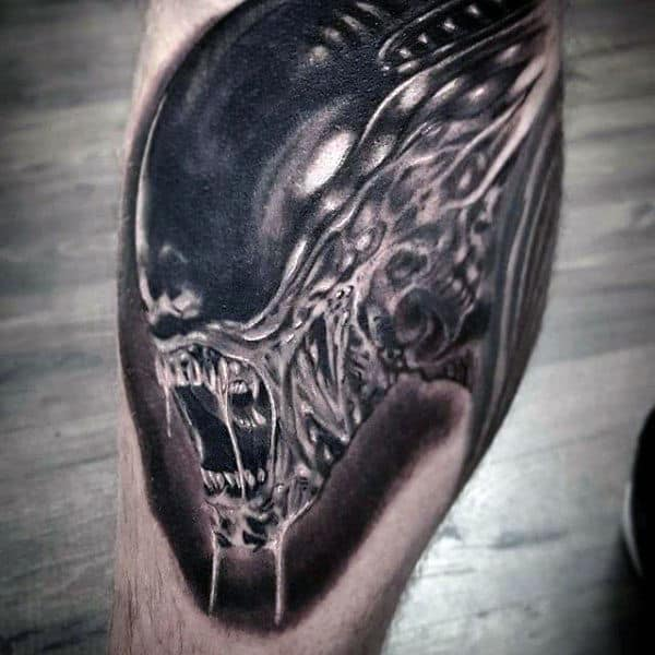 70 Alien Tattoo Designs For Men Extraterrestrial Ink Ideas Ideas And Designs