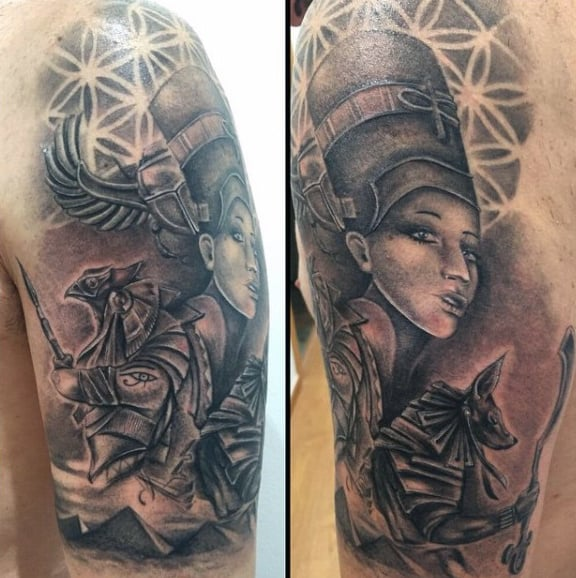 60 Egyptian Tattoos For Men Ancient Egypt Design Ideas Ideas And Designs