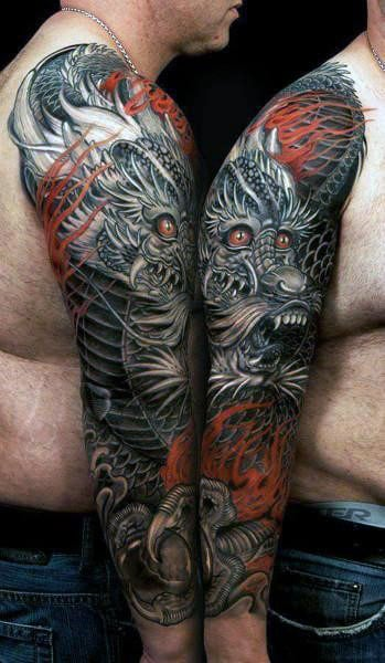 50 Chinese Dragon Tattoo Designs For Men Flaming Ink Ideas Ideas And Designs